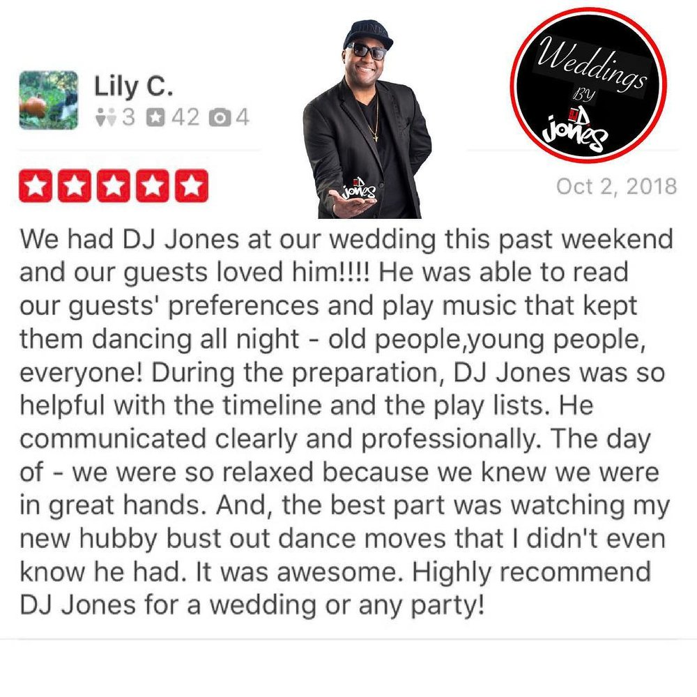 Weddings By D Jones Indianapolis best DJ Luxury. WeddingWIREjpg.jpg