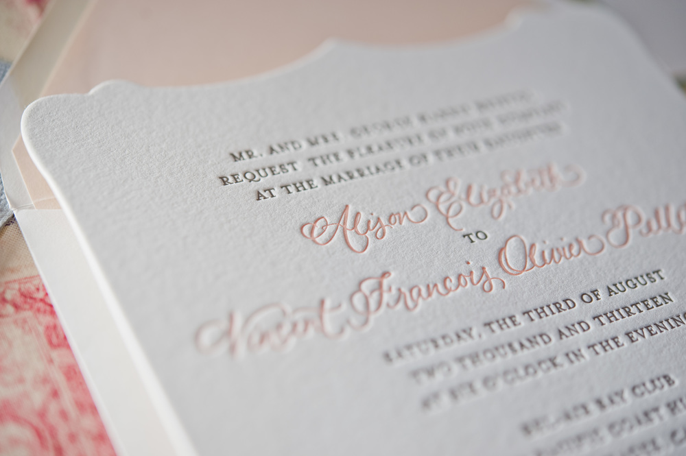 copperwillow.com | Romantic Lace Wedding Invitations | Copper Willow Paper Studio | Romance Wedding Style