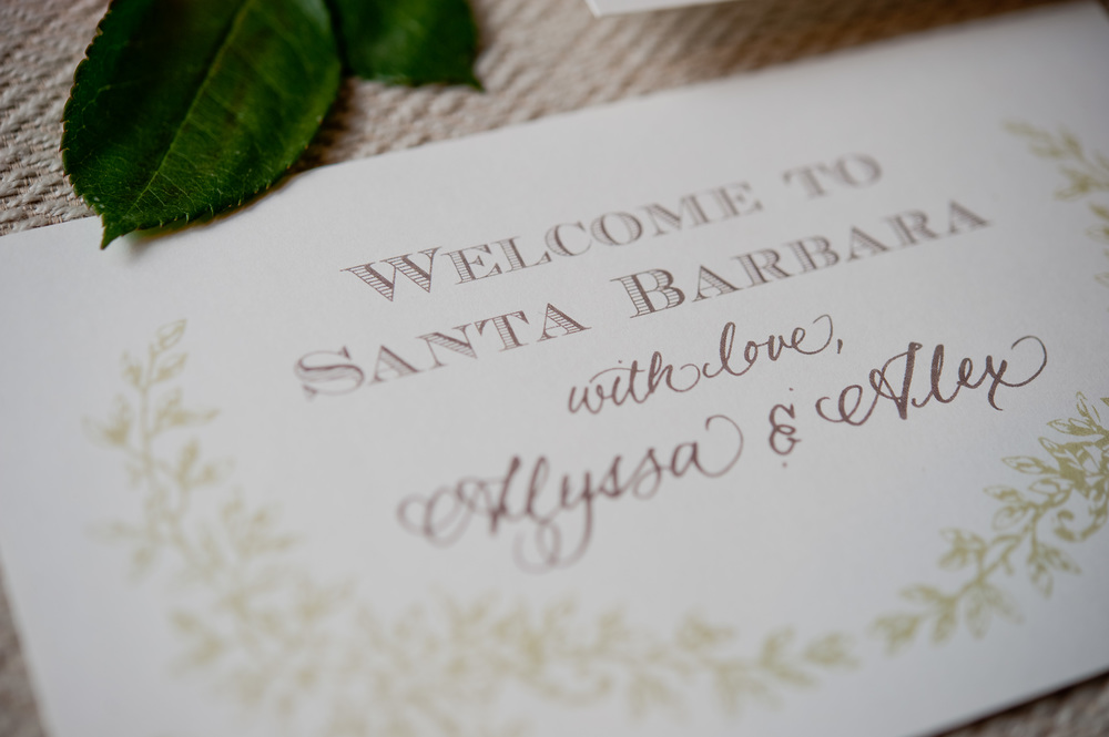 copperwillow.com | Soft Foliage Wedding Invitations | Spring Wedding Stationery | Copper Willow Paper Studio | Santa Barbara Wedding Invitation Collection