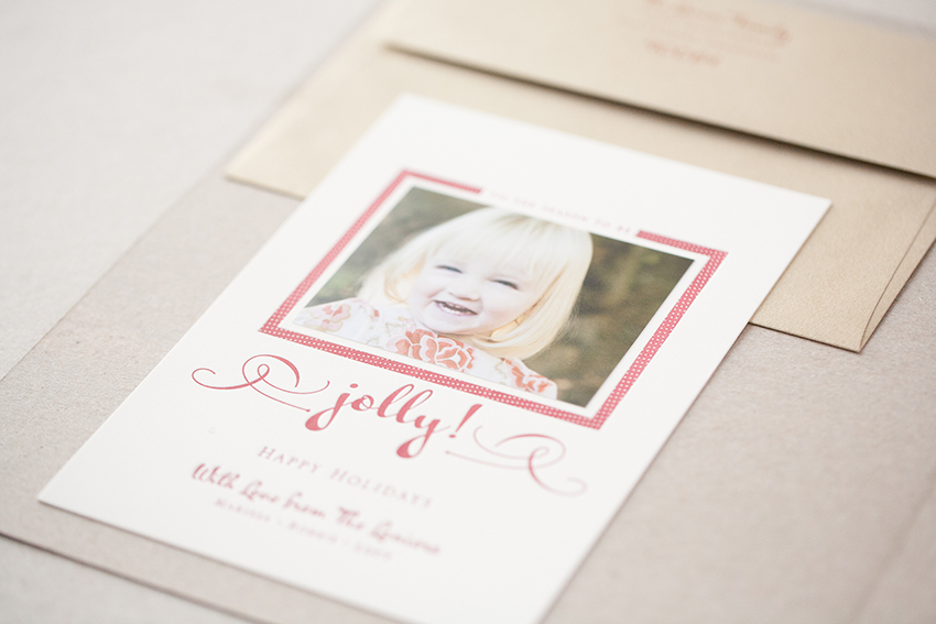 copperwillow.com | Letterpress Holiday Cards | Foiled Christmas Card Ideas | Copper Willow Paper Studio
