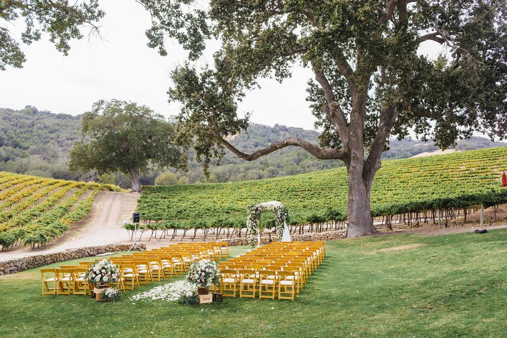 copperwillow.com | Hammersky Vineyards Wedding | Letterpress Vineyard Invitation