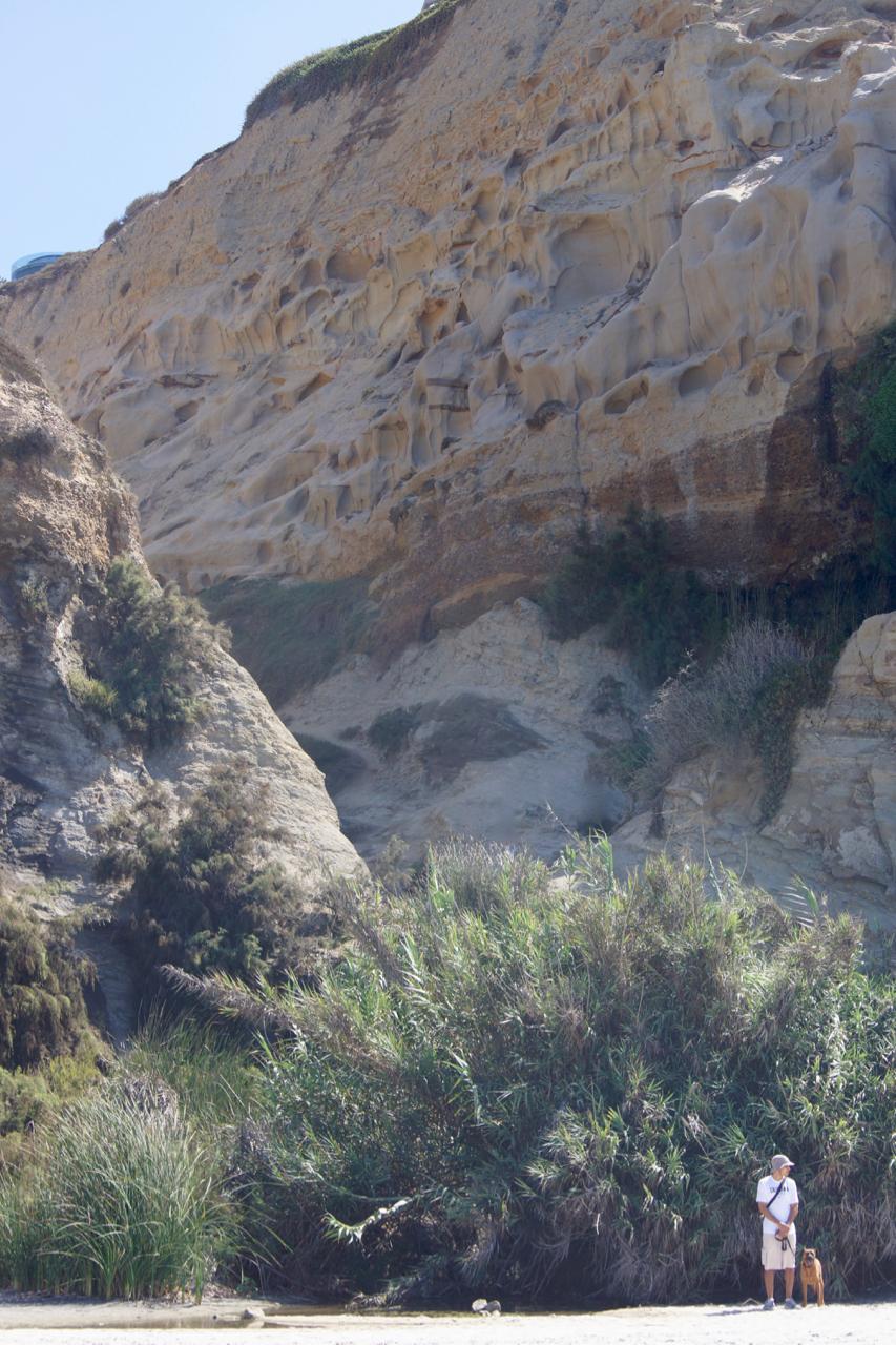 Big cliffs. Little dudes.