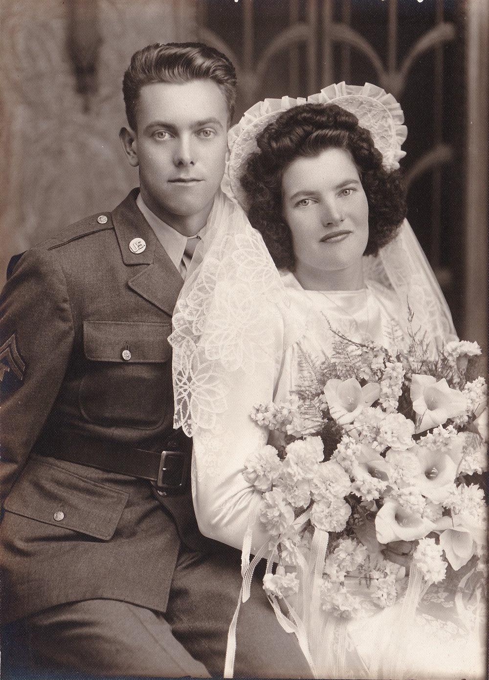In loving memory of my grandparents.