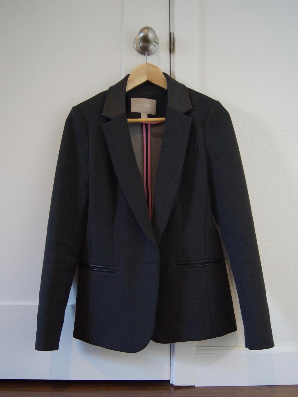structured femme blazer