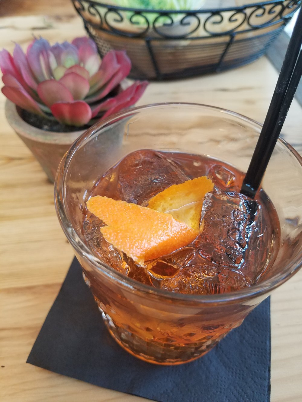 Oaxaca Old Fashioned.