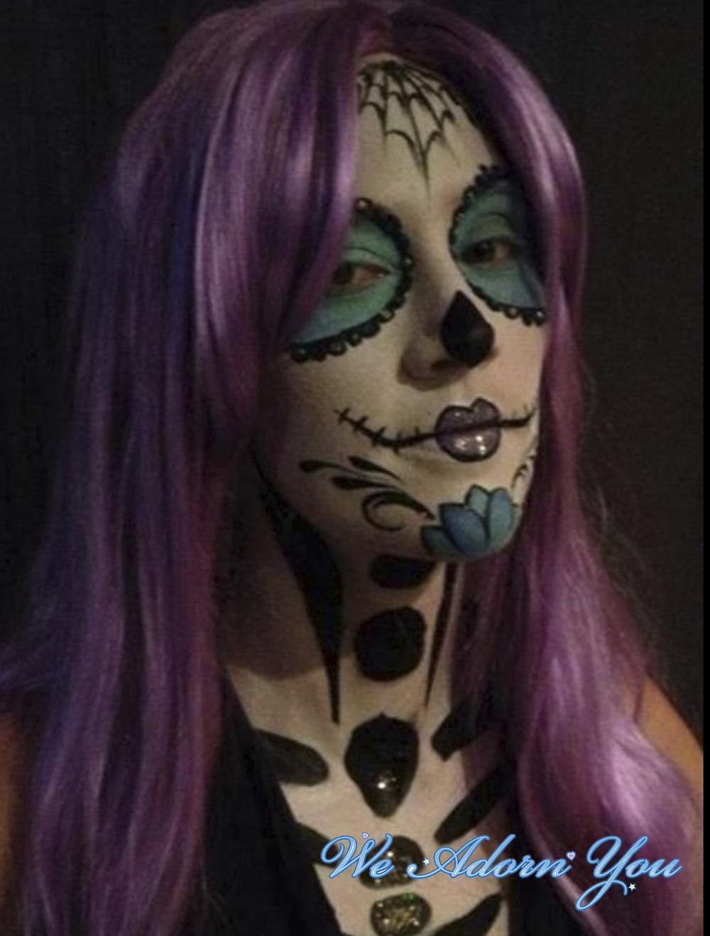 Face Painting Sugar Skull- We Adorn You.jpg