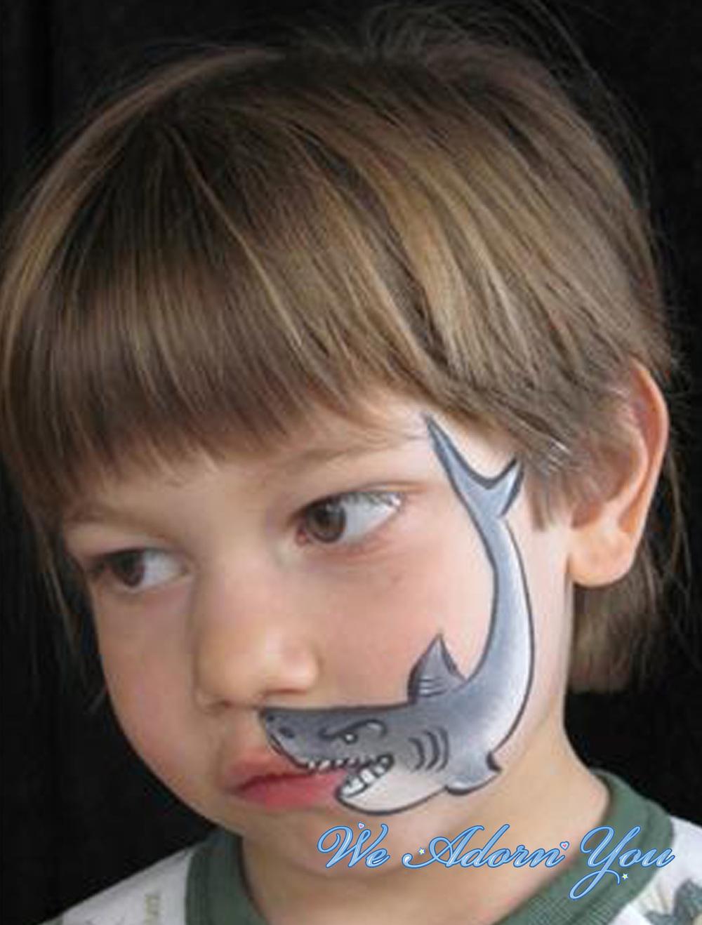 Face Painting Shark- We Adorn You.jpg