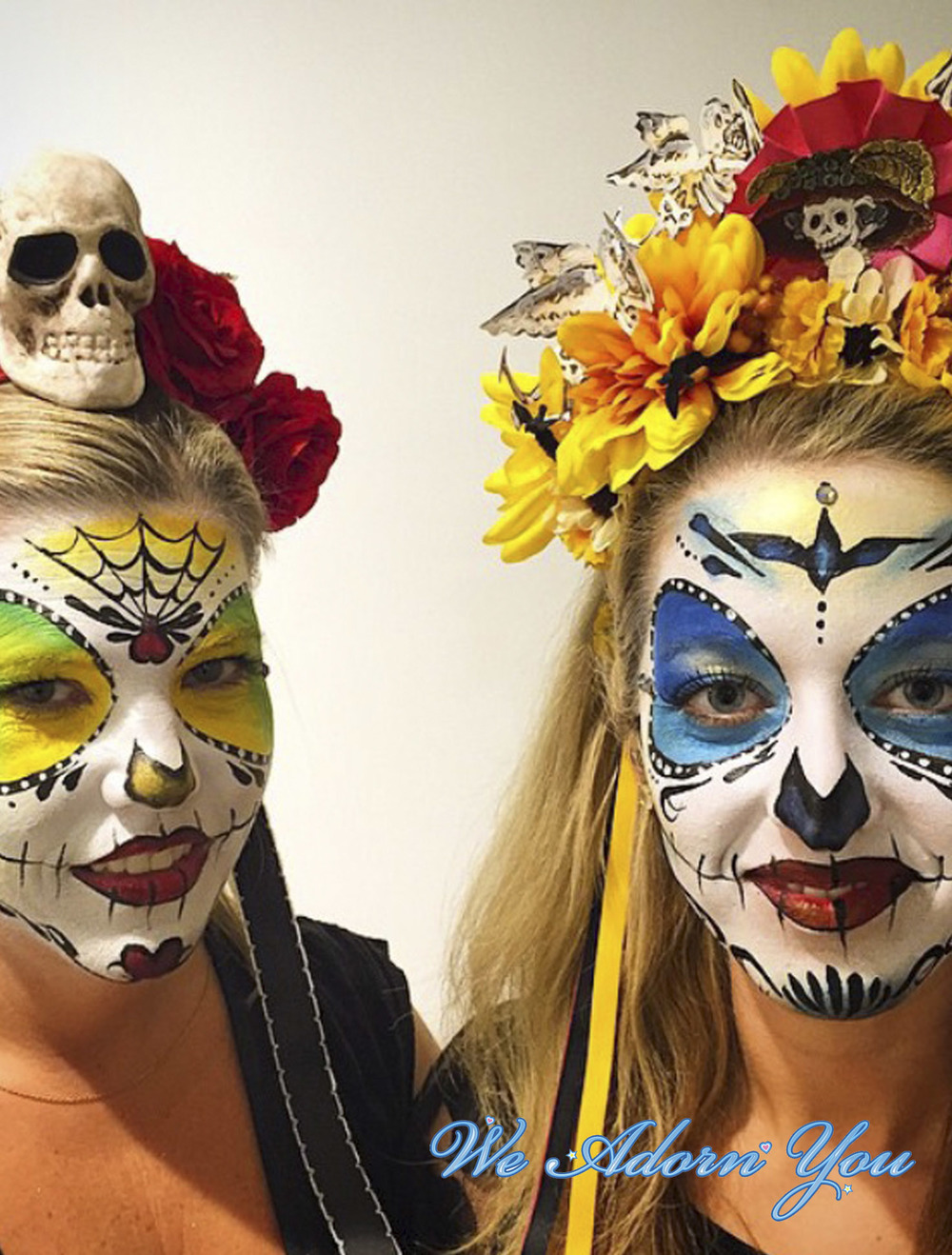 Face Painting Sugar Skull - We Adorn You.jpg