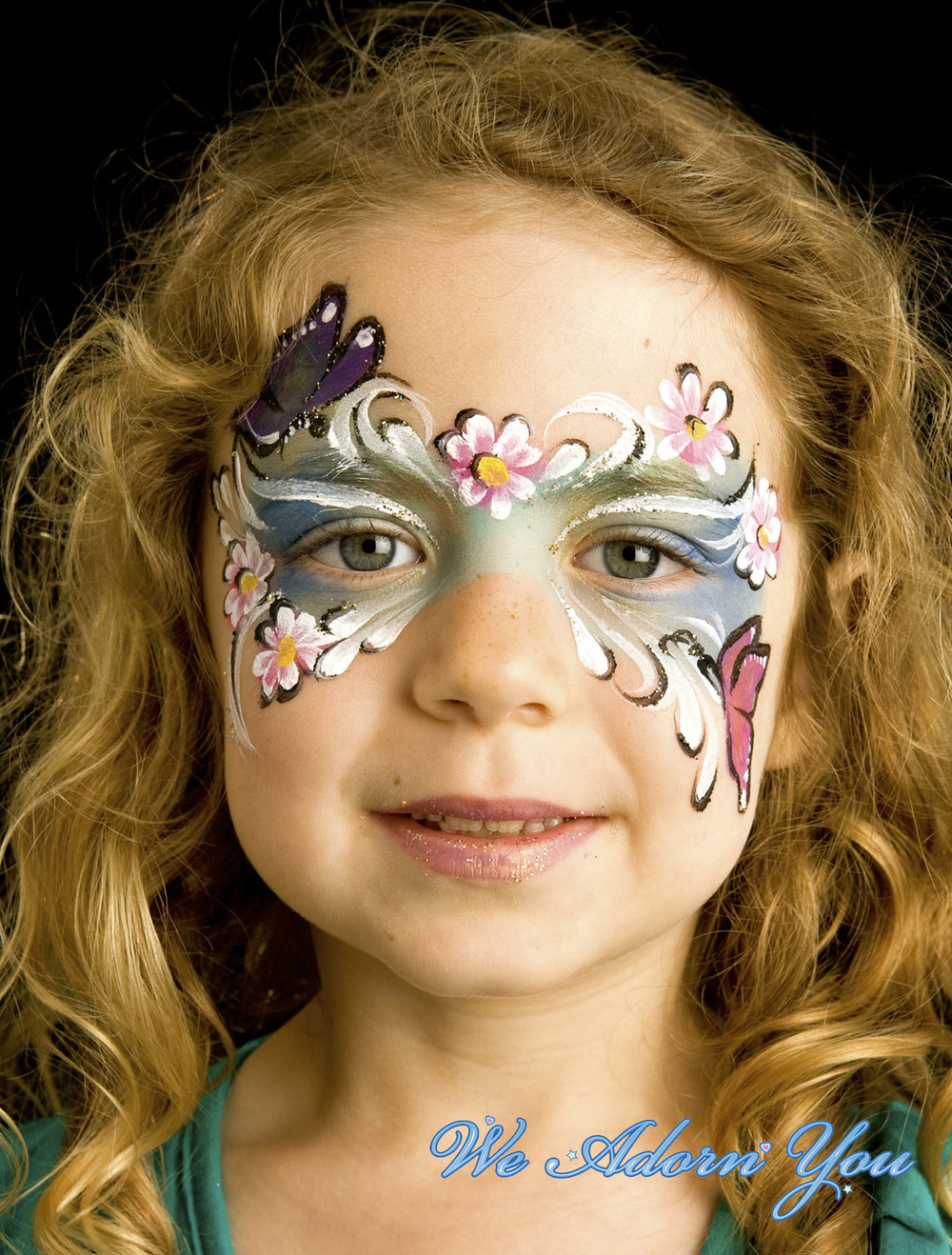 Face Painting Butterfly Floral - We Adorn You.jpg