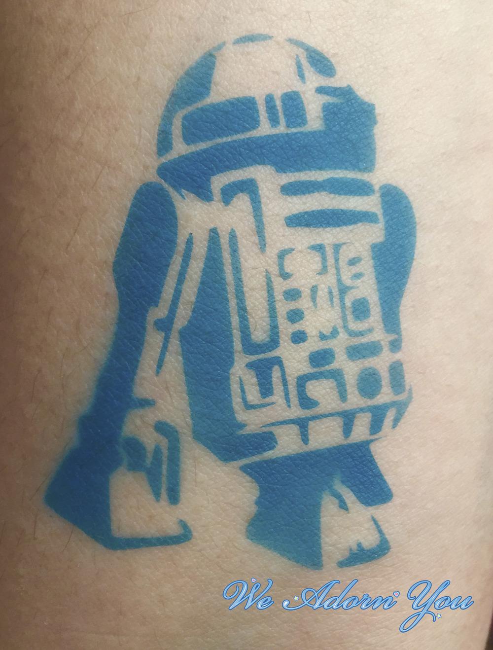 Airbrush Tattoo R2D2 - We Adorn You.jpg