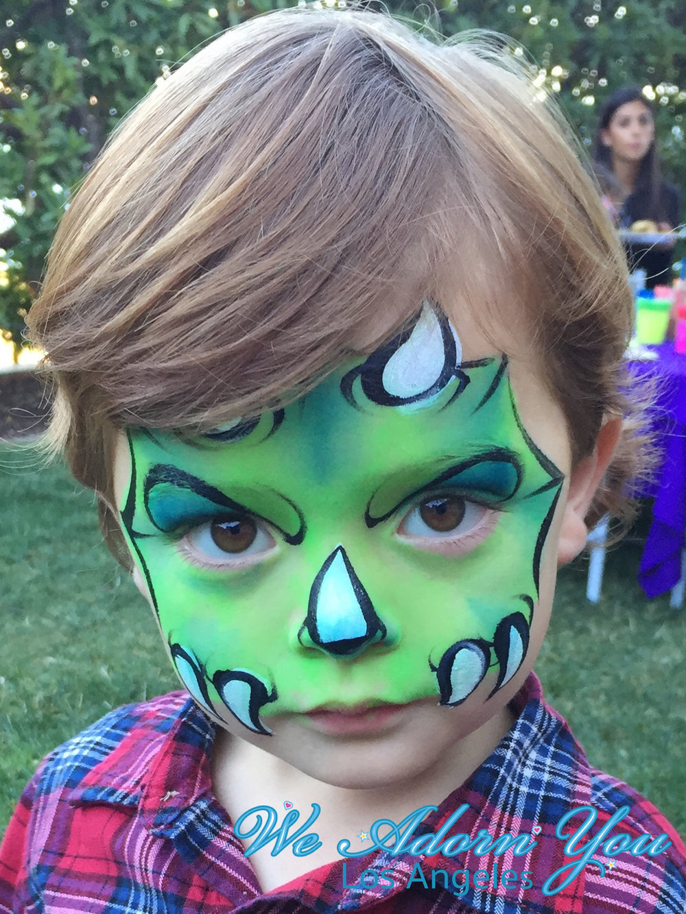 We Adorn You Los Angeles Face Painting Dino.jpg