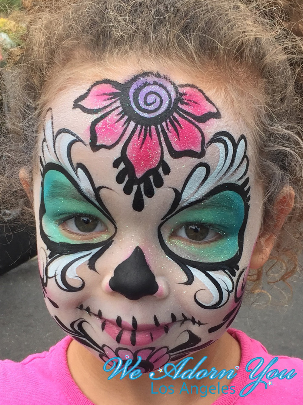 We Adorn You Los Angeles Face Painting Sugar Skull.jpg
