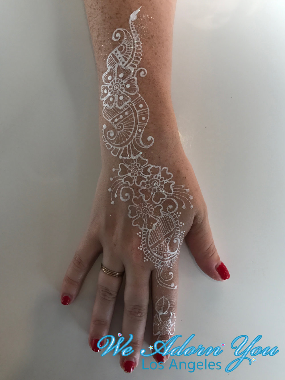 We Adorn You Los Angeles Color Henna White Flower 5.jpg