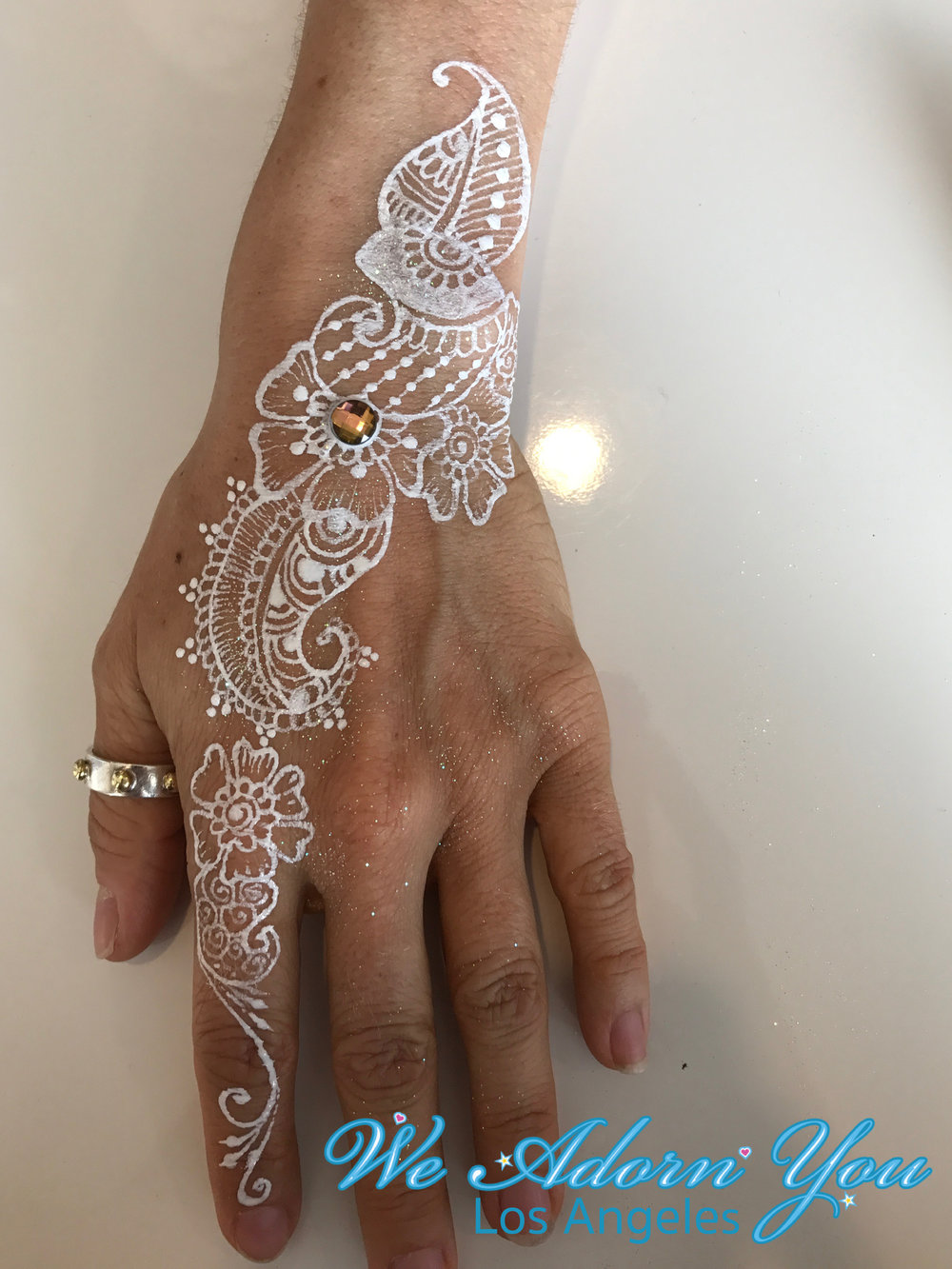 We Adorn You Los Angeles Color Henna White Gem.jpg