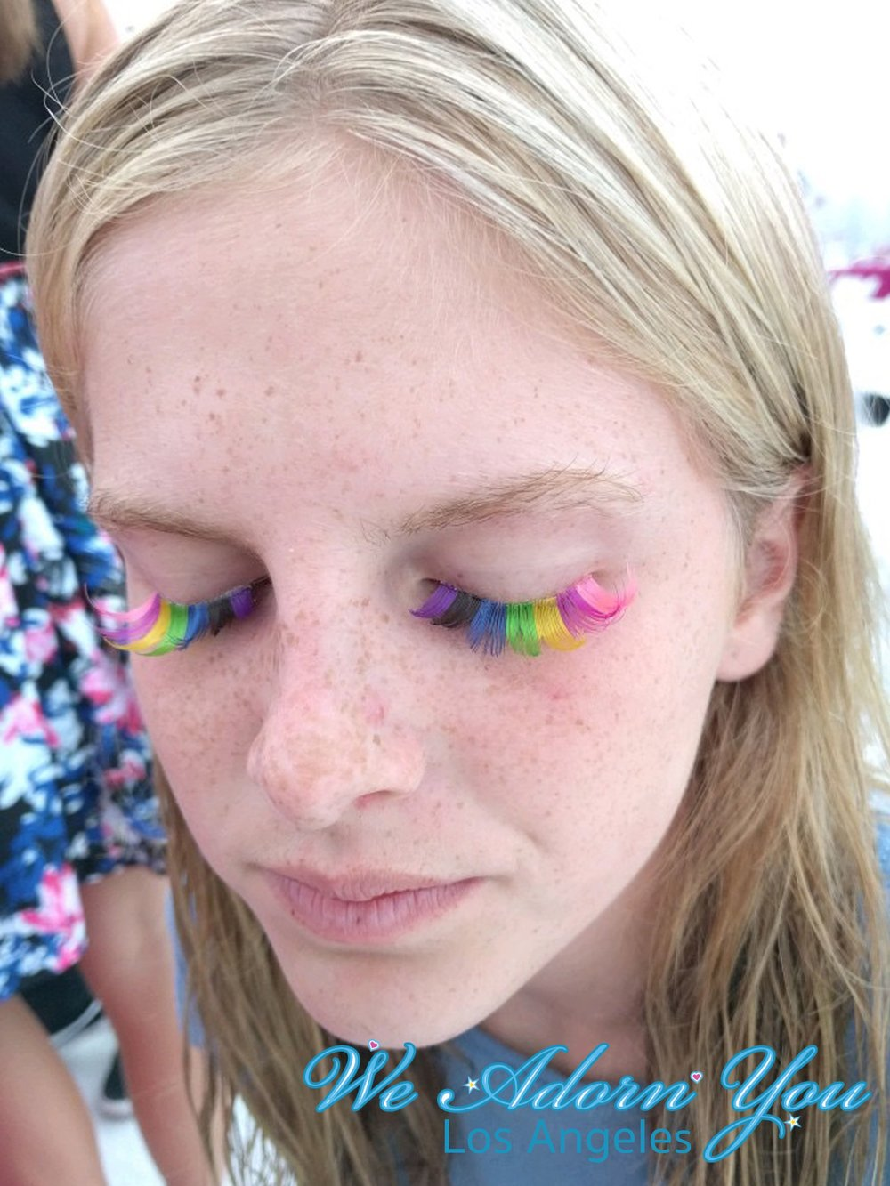 We Adorn You Los Angeles party eyelashes rainbow.jpg