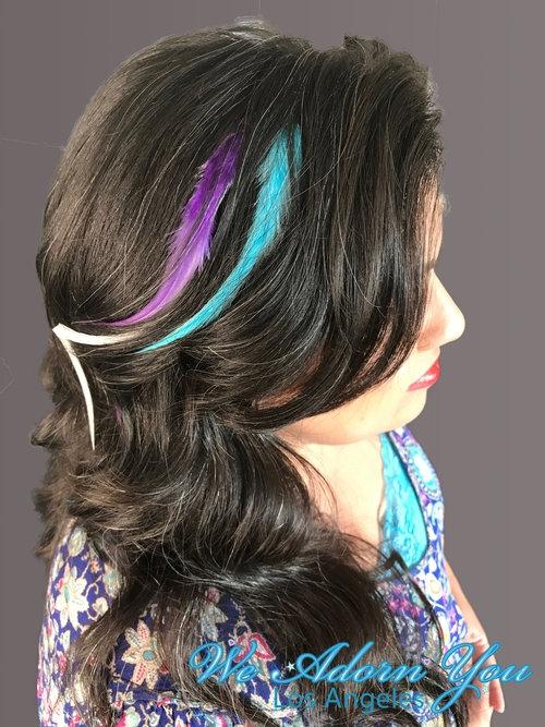 Hair Feathers