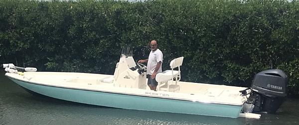 Miami Skeeter Bay Boat