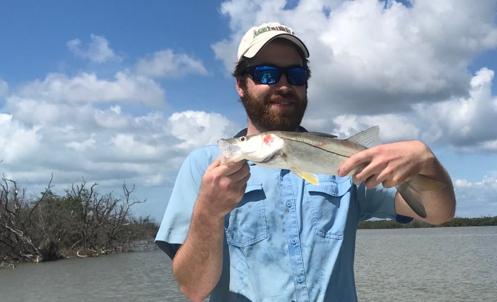 1 of 30 Snook Will caught, not all giants but still fun!