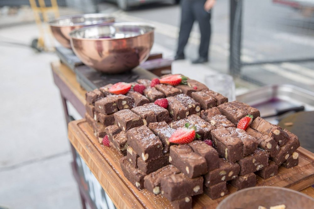 Chocolate brownies by Fabulous BBQ