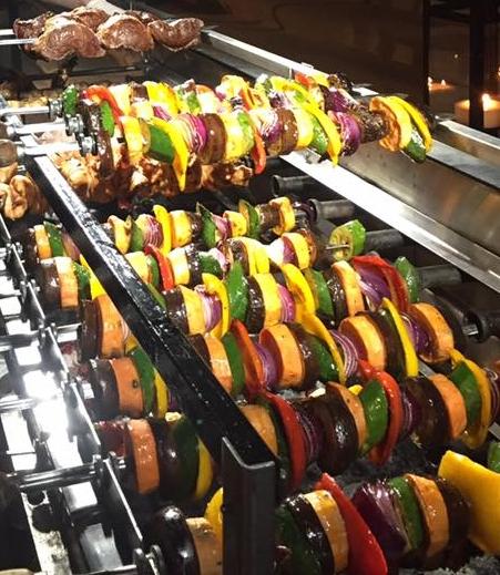 Fabulous BBQ vegetable skewers