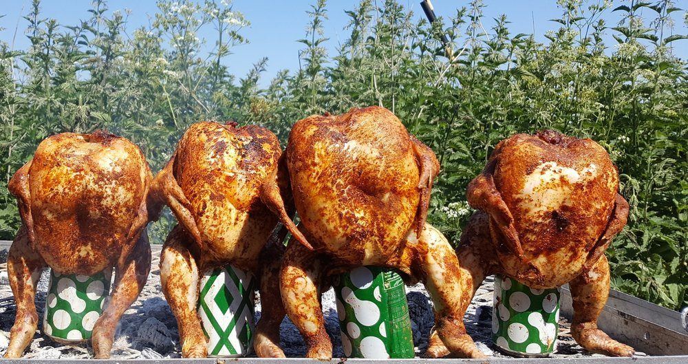 Beer can chicken by Fabulous BBQ