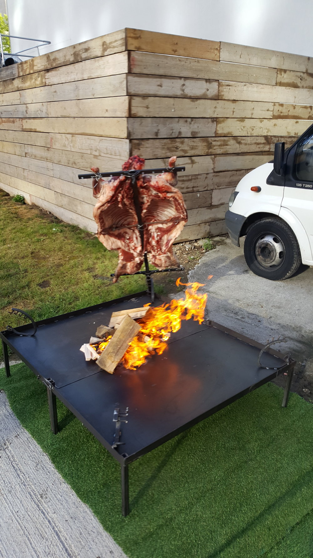 Asado lamb by Fabulous BBQ