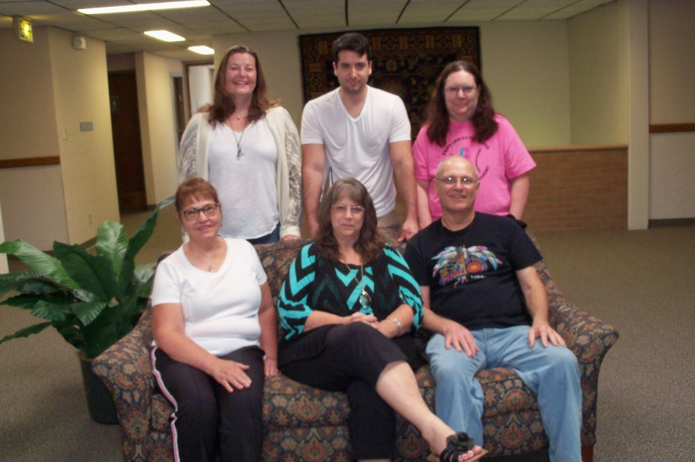 Heather Larson is a Reiki Master and owner of You Deserve Reiki in Wichita, Kansas since 2014. Here she is (top left) with a group of students who learned Shoden Reiki from Masters Conrad and Donna Jestmore, Heather's Reiki teachers since 2012. (That's Conrad bottom right).  Learn more at YouDeserveReiki.com