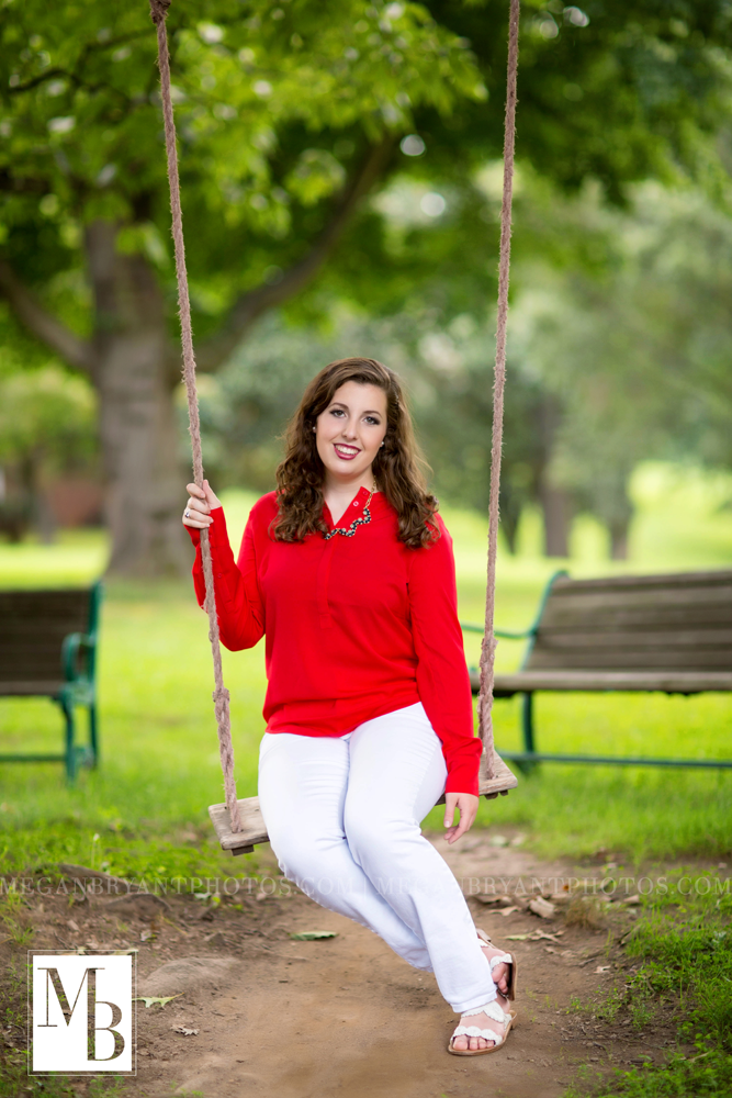Outdoor senior photography