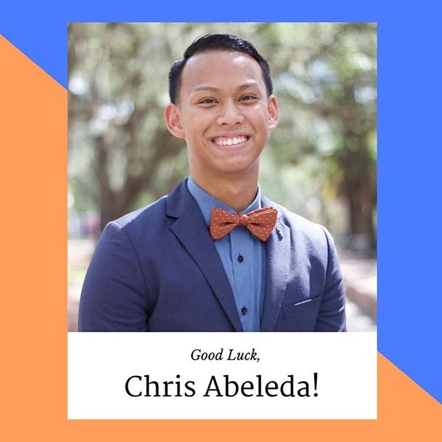 Good luck to Chris Abeleda as he represents @ufpdpsi and the @uf_mgc in this year's UF Homecoming Pageant 2016  ! Come out and support him on his journey to become Homecoming King at the Phillips Center on Sunday, October 9th at 7PM!  #UFMGC #UFPDPsi #UFHomecoming2016 #LetTheGatorGrowl #ItsGreatUF