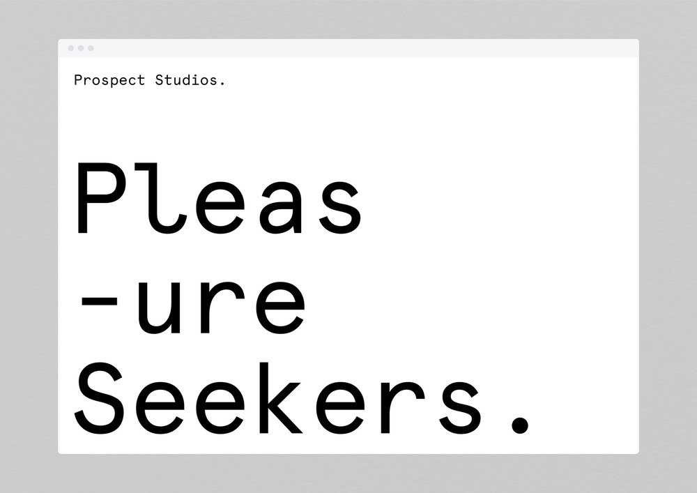 Prospect Studios –  We developed the positioning and full brand identity for this brand new Brisbane co-working space.