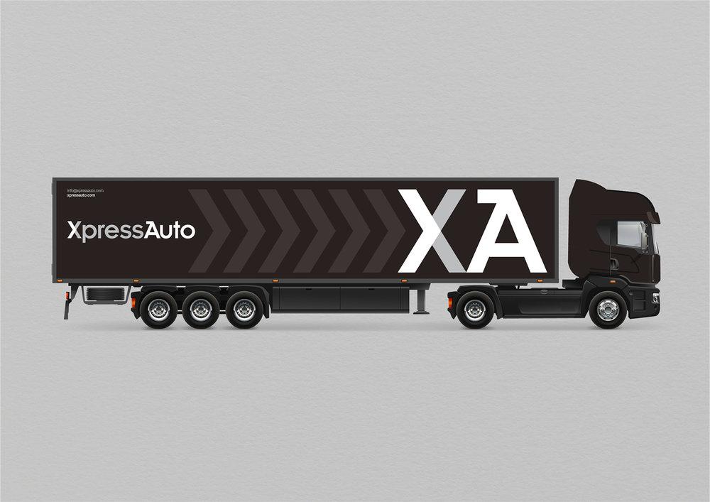 Xpress Auto –  Full brand identity developed for Xpress Auto