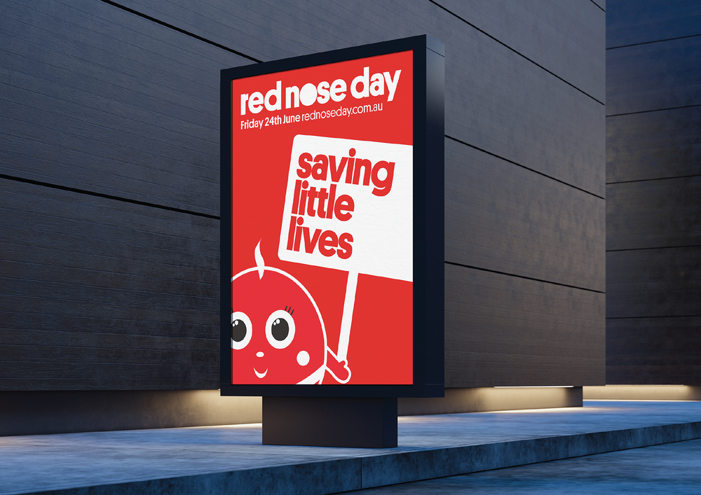 Red Nose –  Full brand identity developed for Red Nose Australia