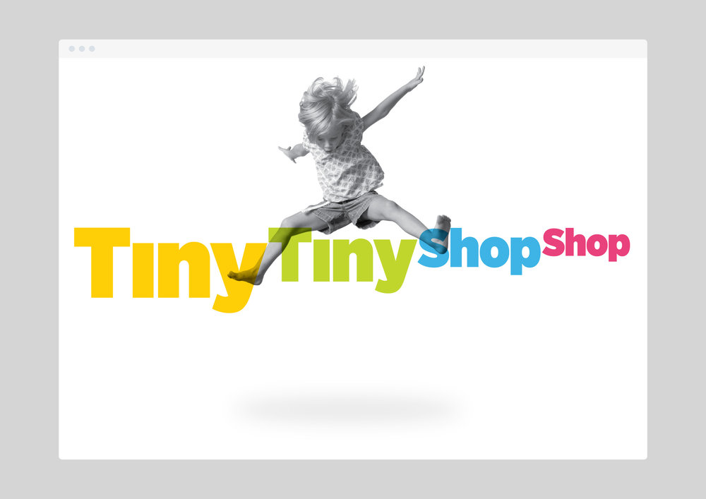 Tiny Tiny Shop Shop –  Full brand identity developed for Prospect Studios in Brisbane.