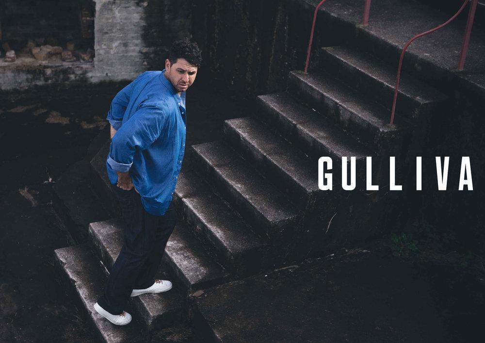Gulliva Menswear –  Full brand identity developed for Prospect Studios in Brisbane.