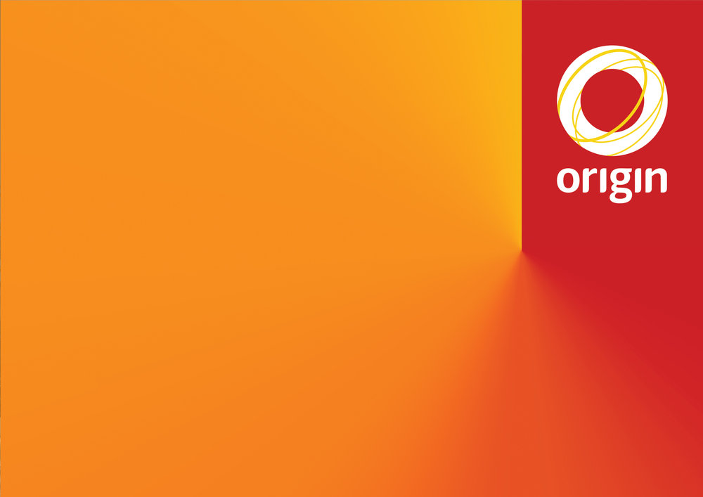 Origin Energy –  Full brand identity developed for Prospect Studios in Brisbane.