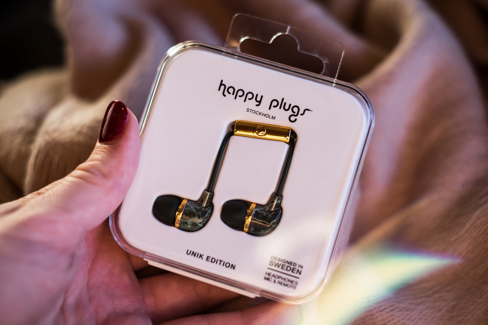 Happy Plugs Green Marble and Gold, Unik Edition-2.jpg
