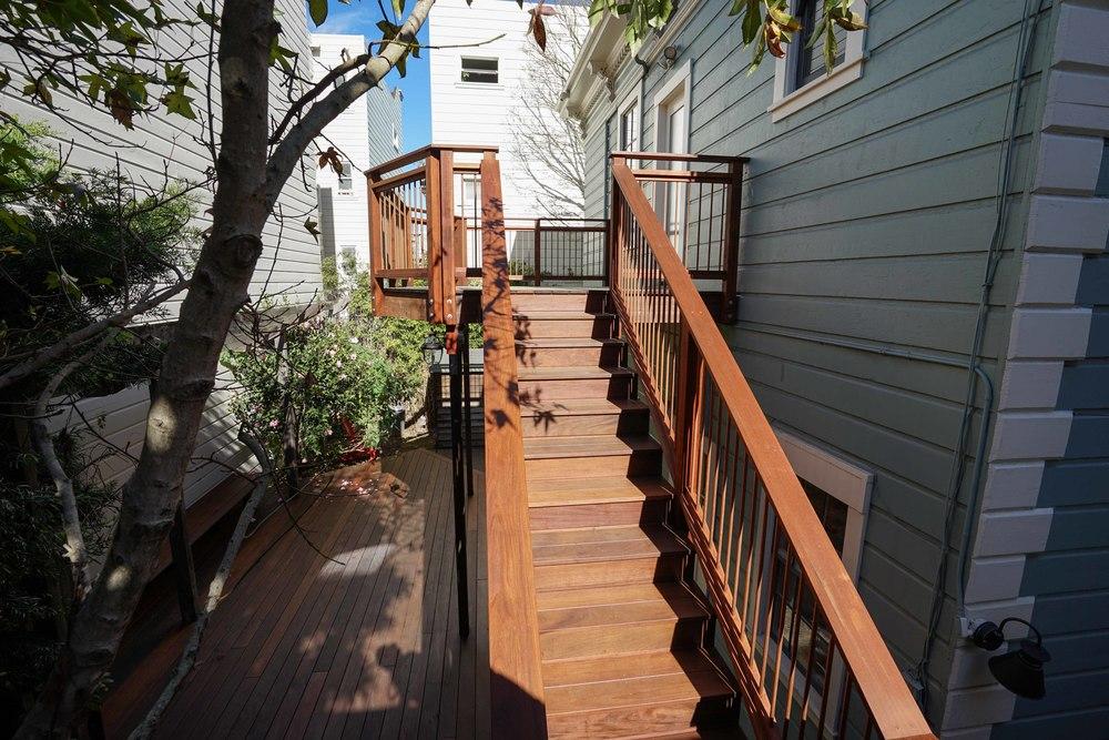 Scott Street Deck with Variance