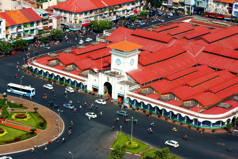 Ben Thanh market...