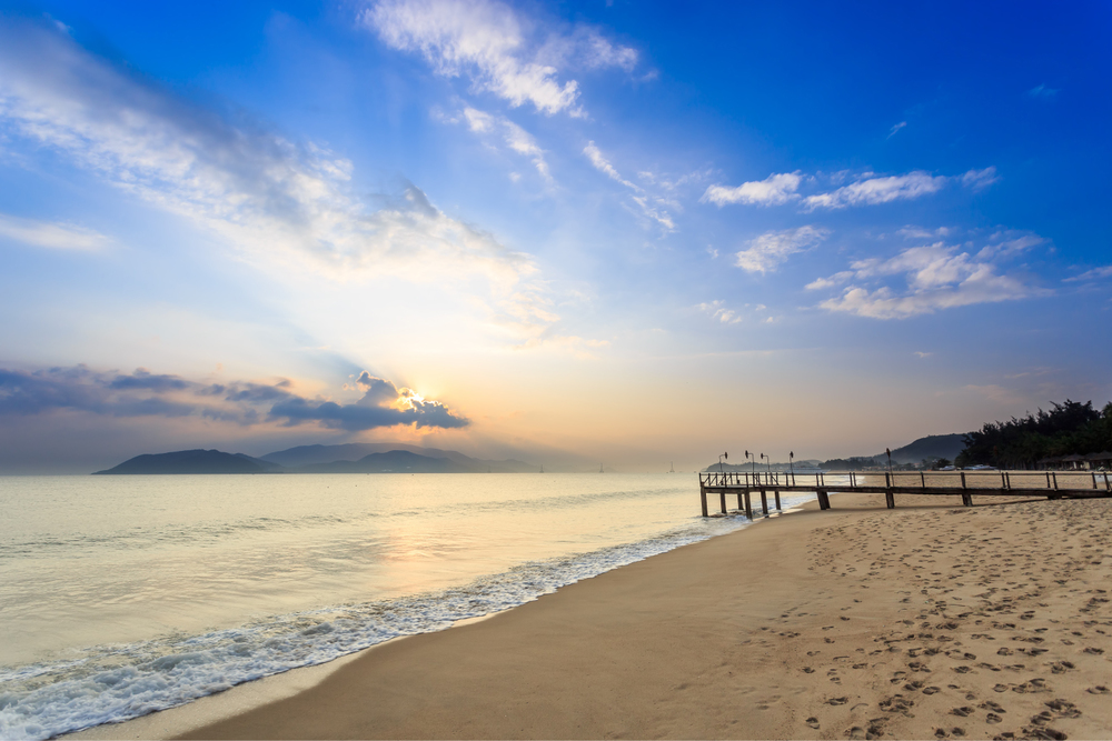 Nha Trang beach...