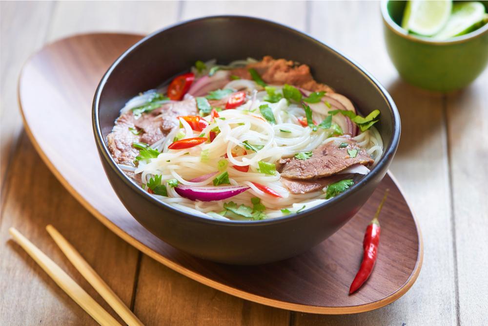 Beef noodle soup...