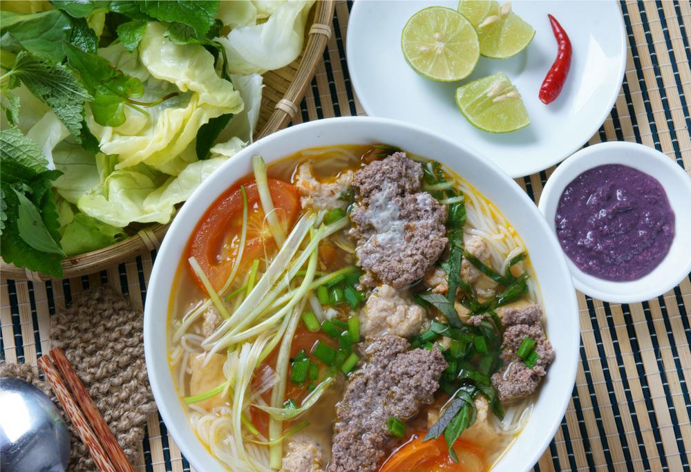 Vietnamese Crab Noodle Soup...