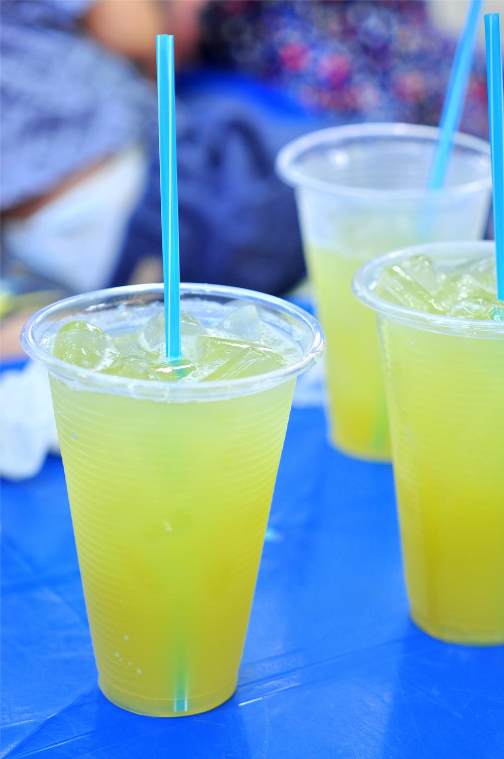 Sugar cane juice...