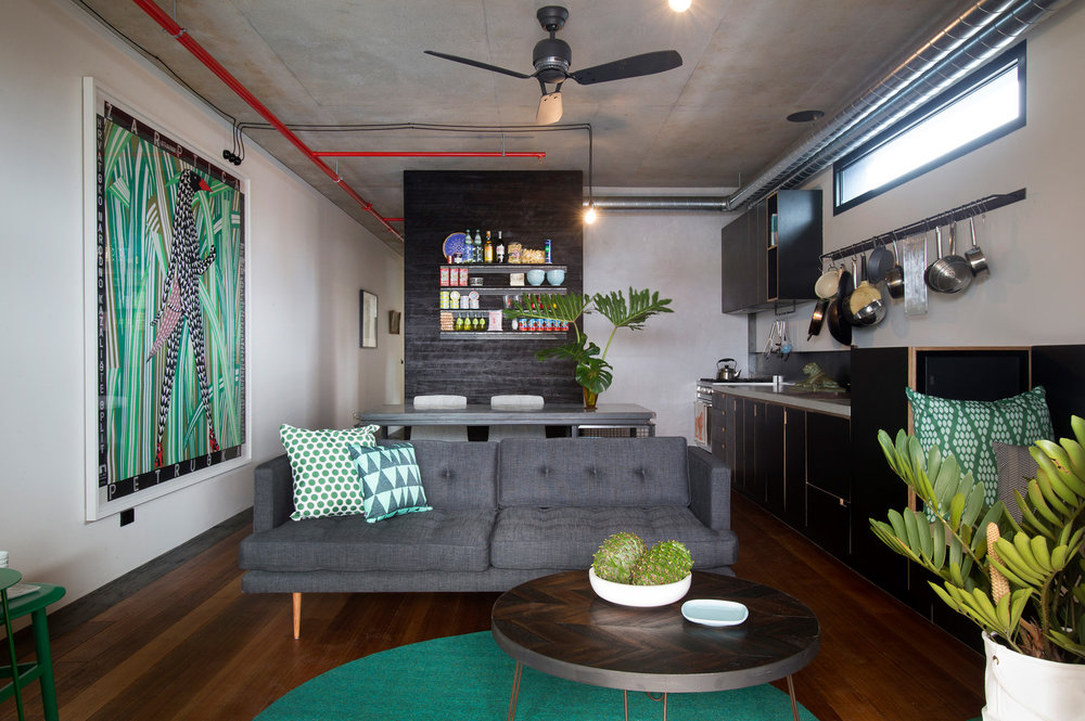 The Commons by Breathe Architecture,Apartment interior, Photography by Andrew Wuttke.