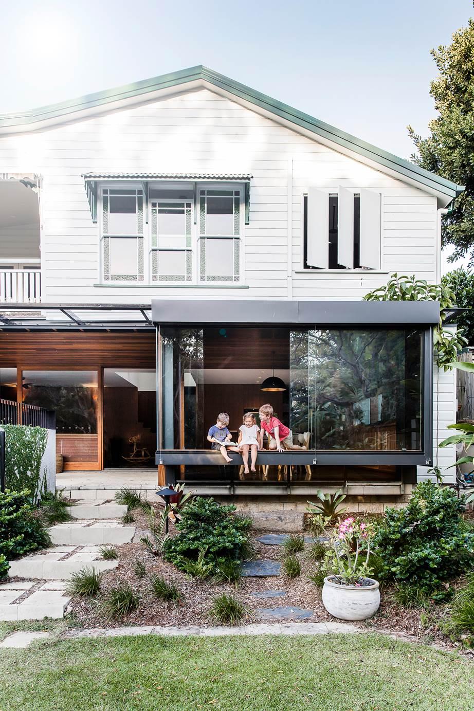 Upside Down House by Kieron Gait