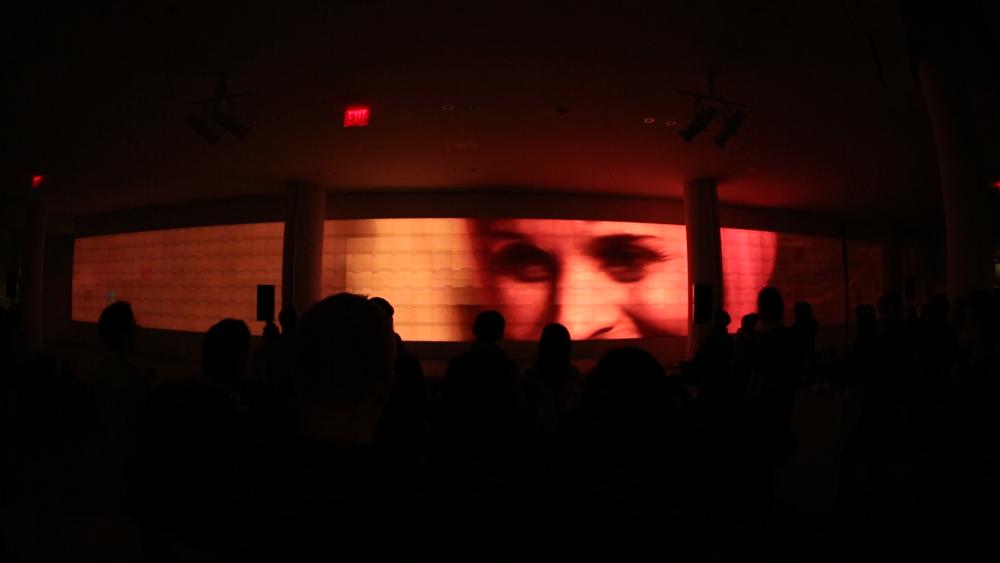 Screening on Dec 2015, at IAC's building, in New York.
