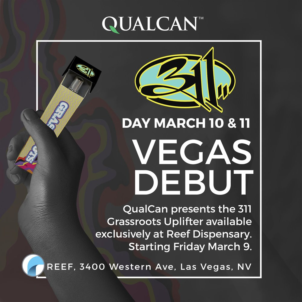 Uplifter available in vegas for 311 day 2018!