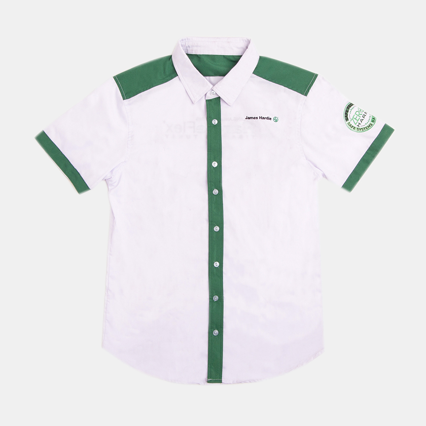 HARDIEFLEX   Fabric used: Oxford Shirting  Custom Application: Cut & Sew, Pocket