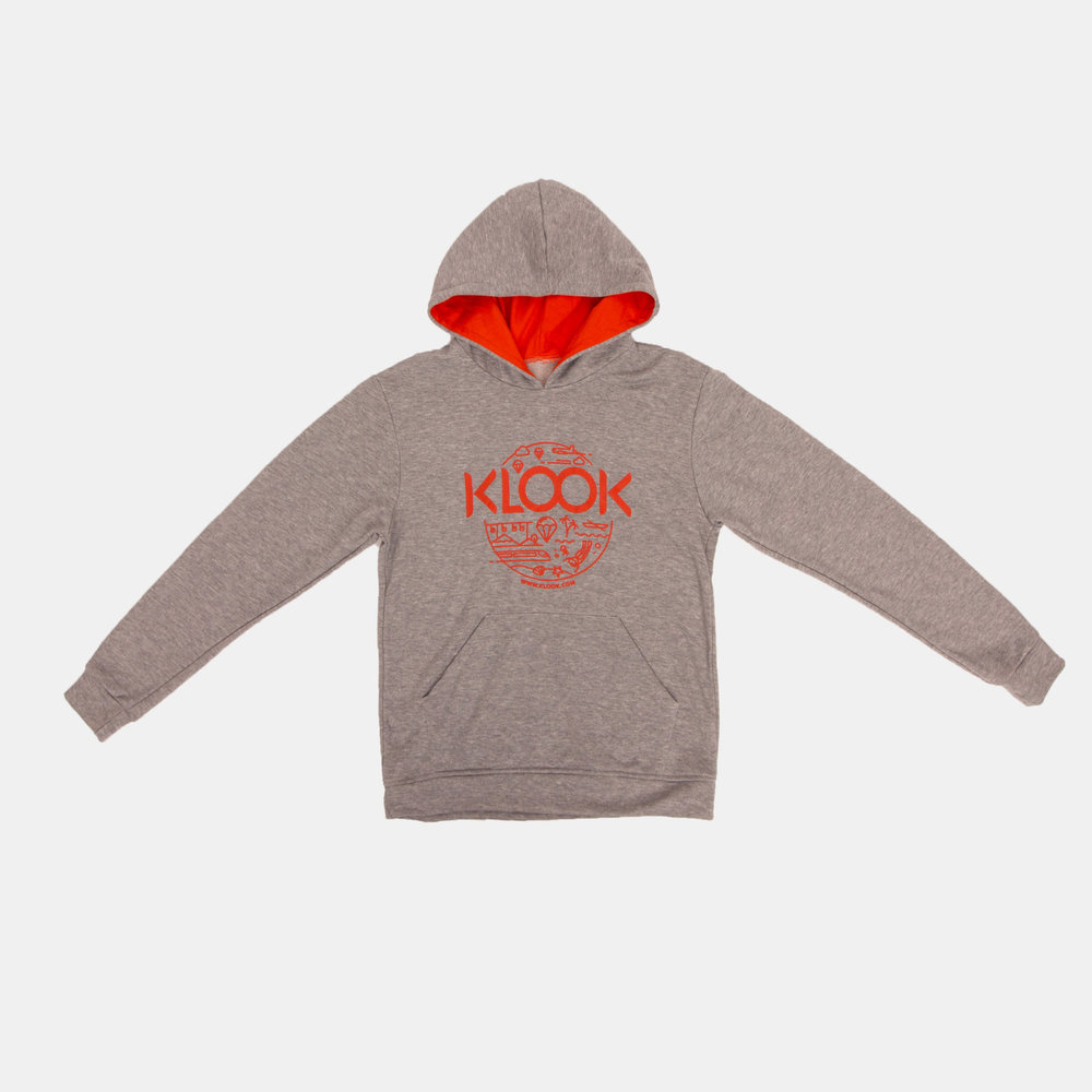 KLOOK   Fabric Used: Seasonal French Terry  Custom Application: 1 Color-Silkscreen Print
