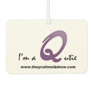 I'm a Qutie – Car Freshener by Kadwani