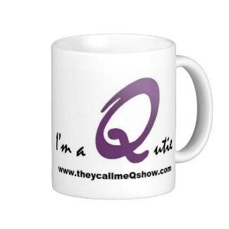 I'm a Qutie – Mug by Kadwani